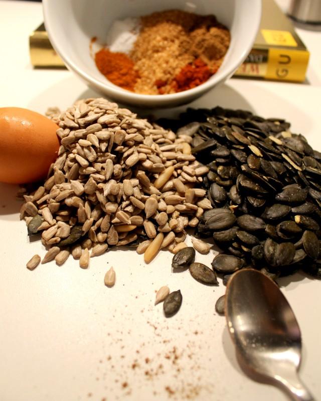 Gewürze für mein Rezept: Indische Knabberkerne